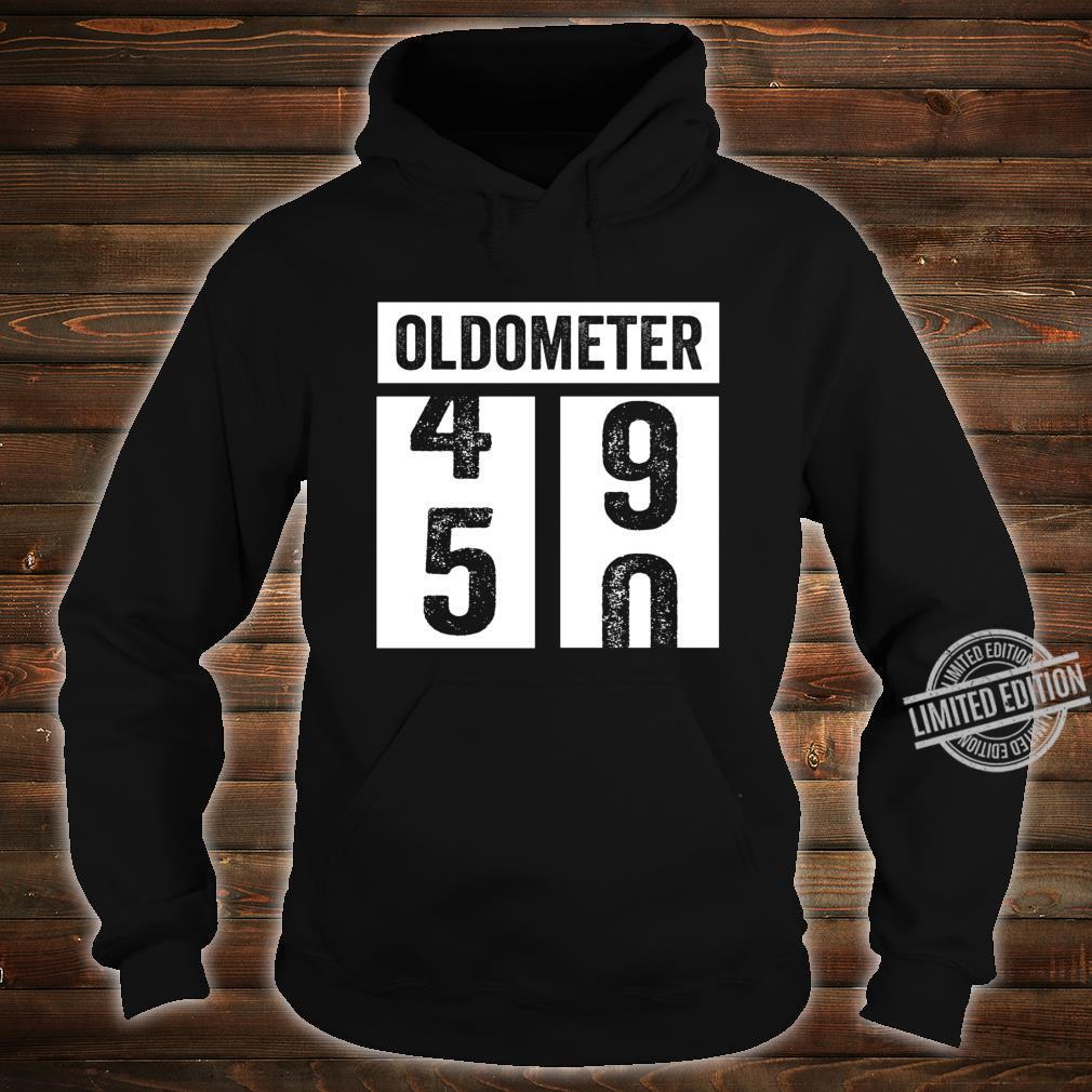 50. Geburtstagsgeschenkidee der Frauenfrauen Oldometer Shirt hoodie