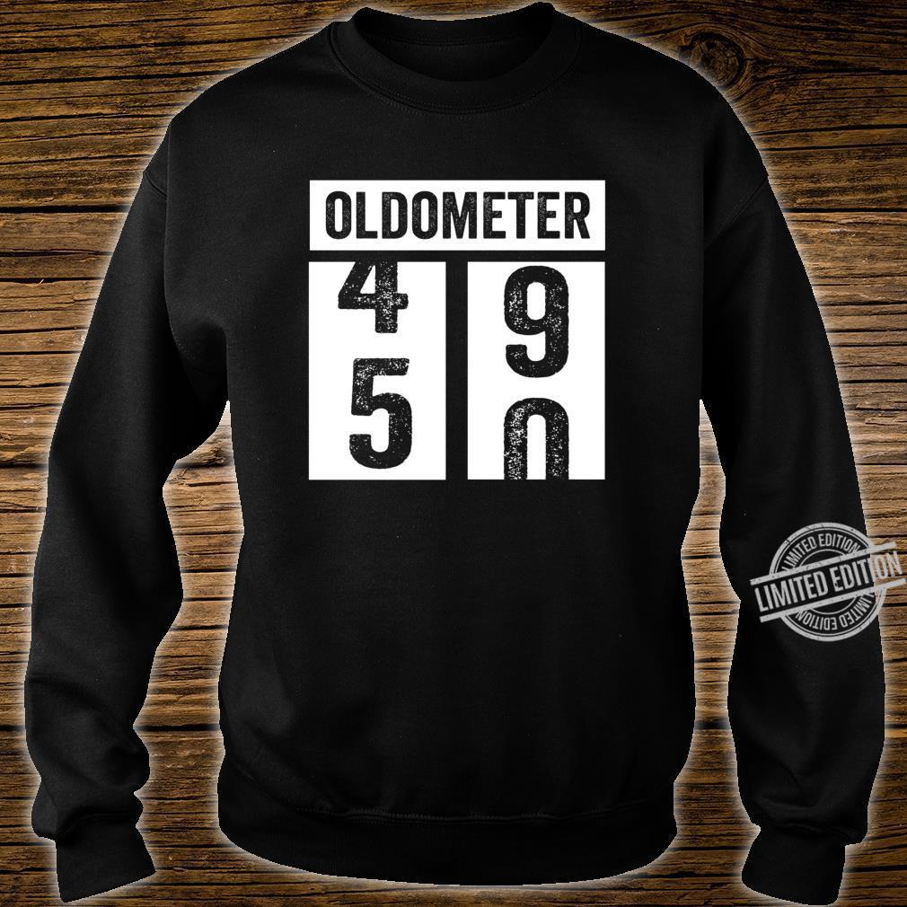 50. Geburtstagsgeschenkidee der Frauenfrauen Oldometer Shirt sweater