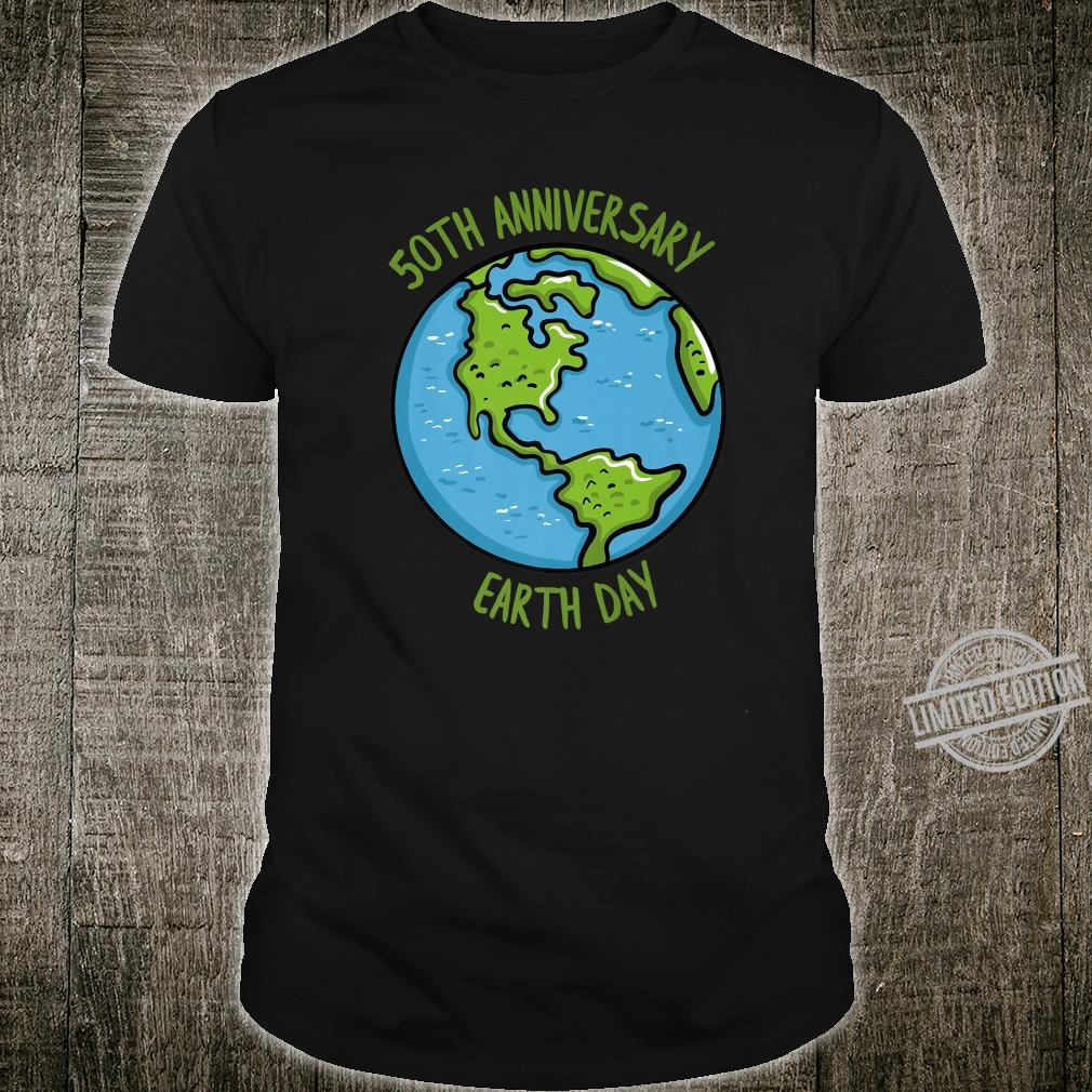 50th Anniversary Earth Day Celebration Climate Change Shirt