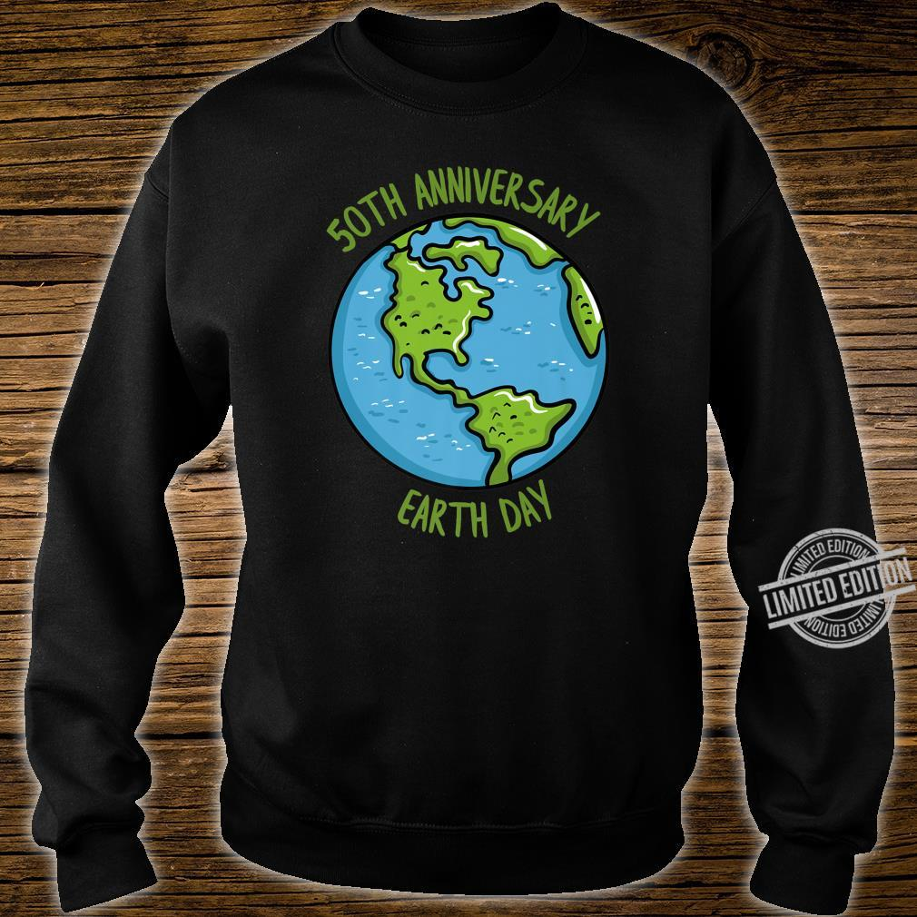 50th Anniversary Earth Day Celebration Climate Change Shirt sweater