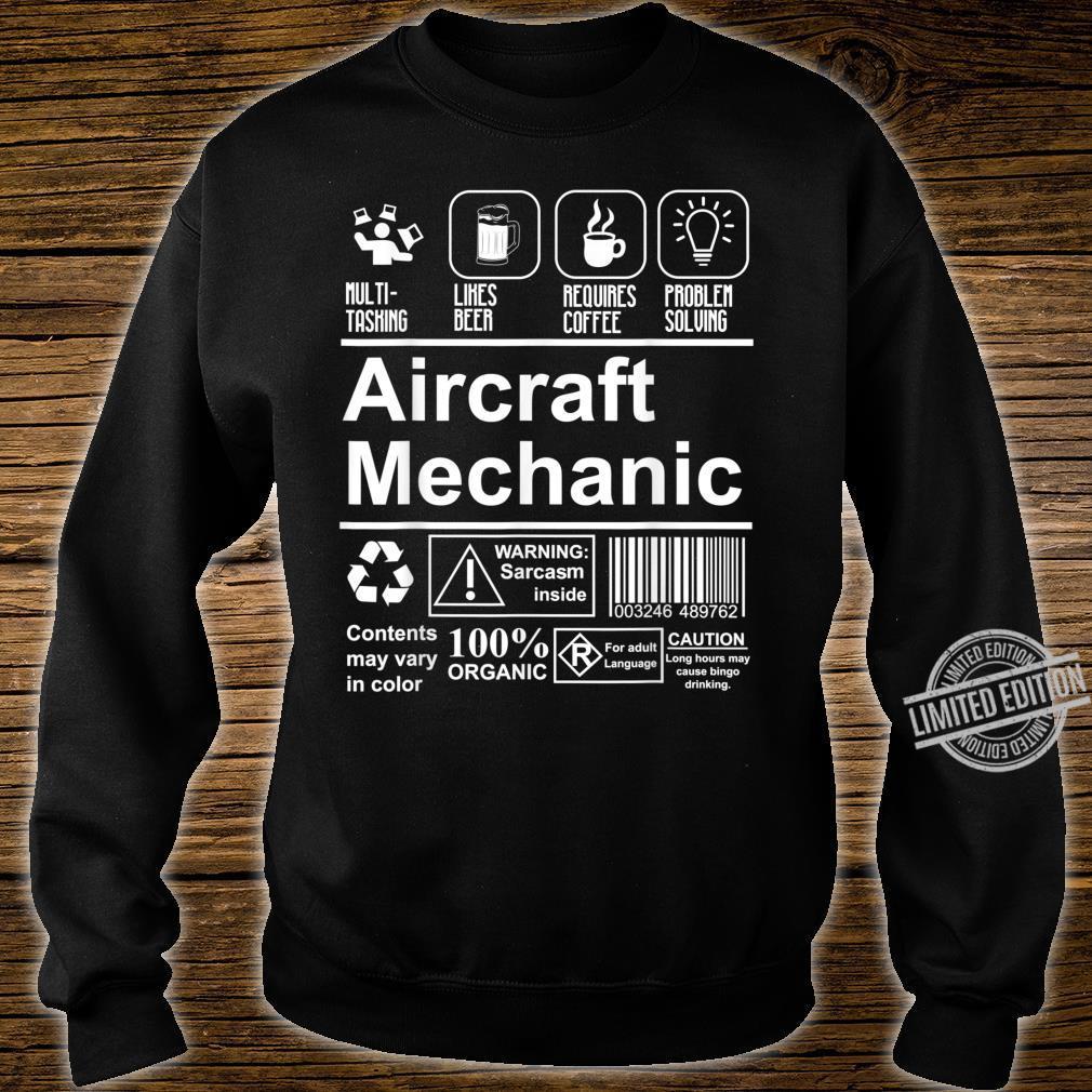 Aircraft Mechanic Cute Aircraft Work Shirt sweater