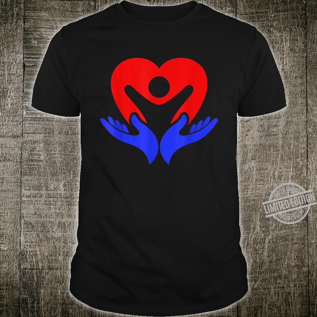 Autism Awareness Shirt My Hand Heart Shirt