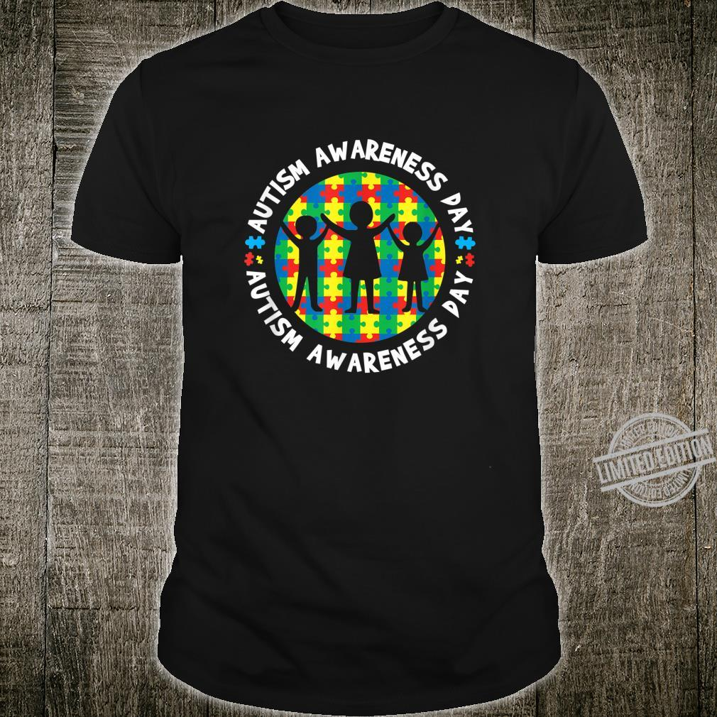 Autism Puzzle Awareness Support For Autistic Child Shirt