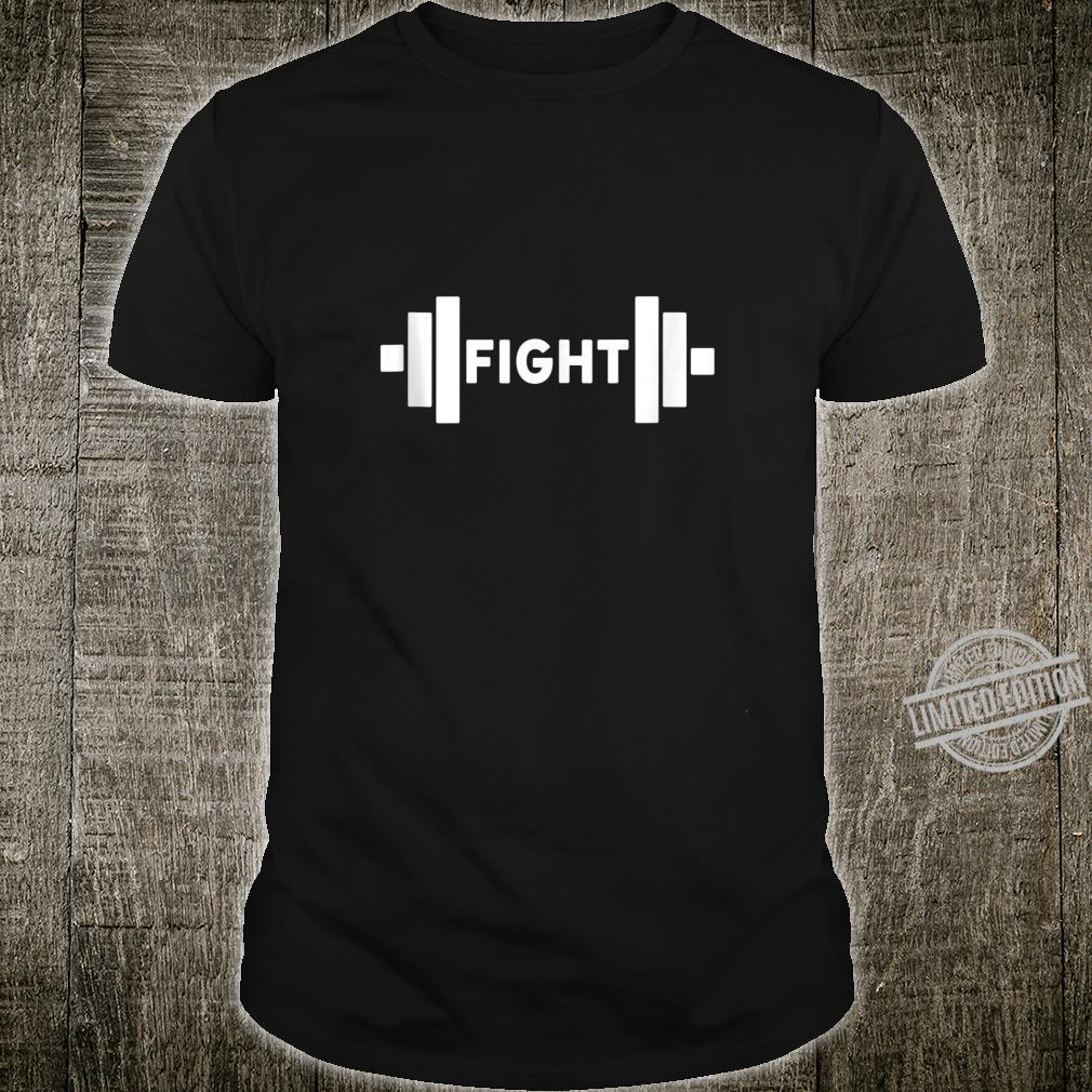 Awesome Strong Weight Lifting Powerful Fight Gym Shirt