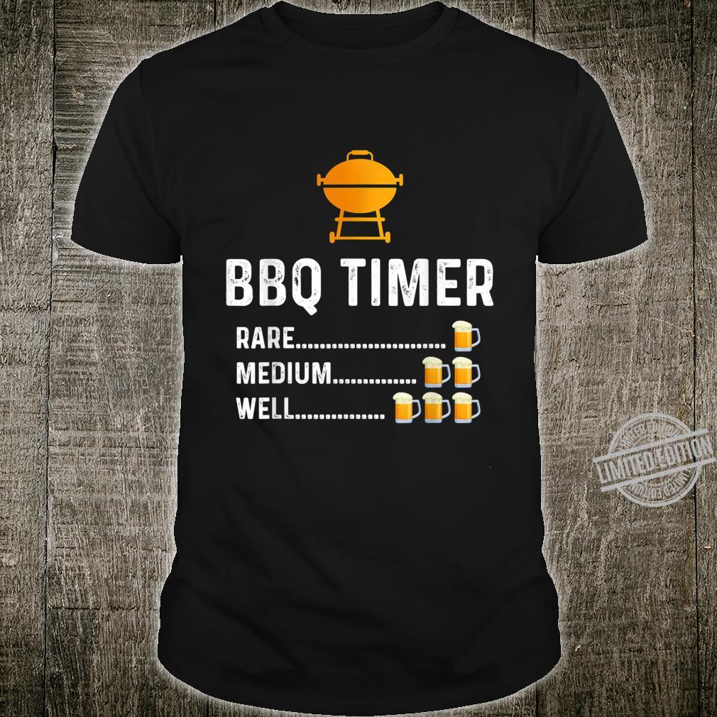 BBQ Timer Barbecue Shirt Grill Grilling Shirt