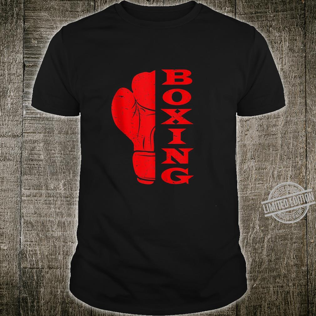 Boxing Glove Fighting Boxing For A Professional Boxer Shirt