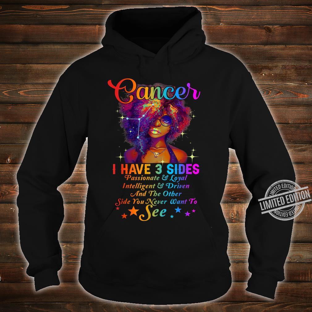 Cancer Girl Birthday Born in June & July Shirt hoodie