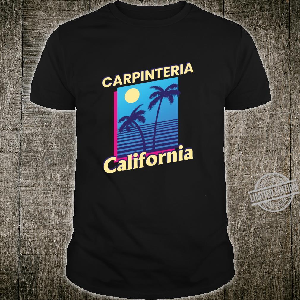 Carpinteria California Summer Family Vacation Shirt