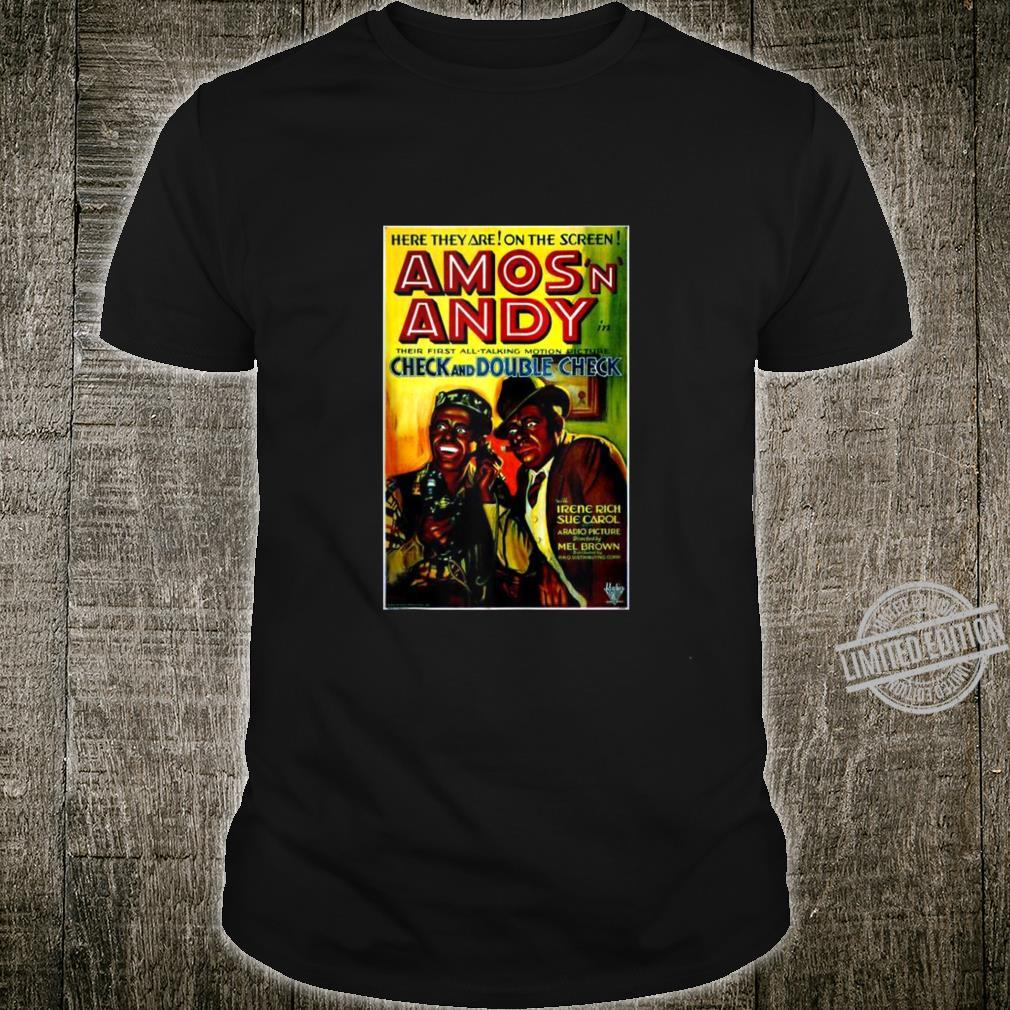 Check and Double Check 1930 Movie Poster Vintage Art Shirt