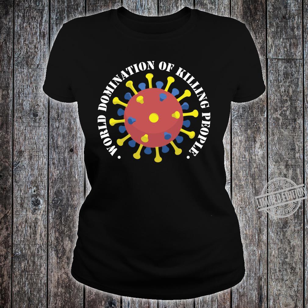 Corona World Domination Shirt ladies tee