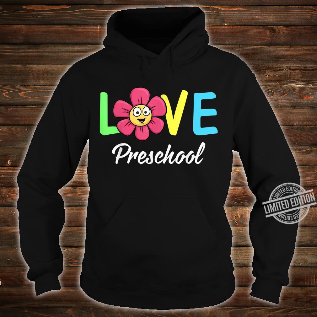 Cute Love Preschool Teacher Costume Boys Girls Shirt hoodie