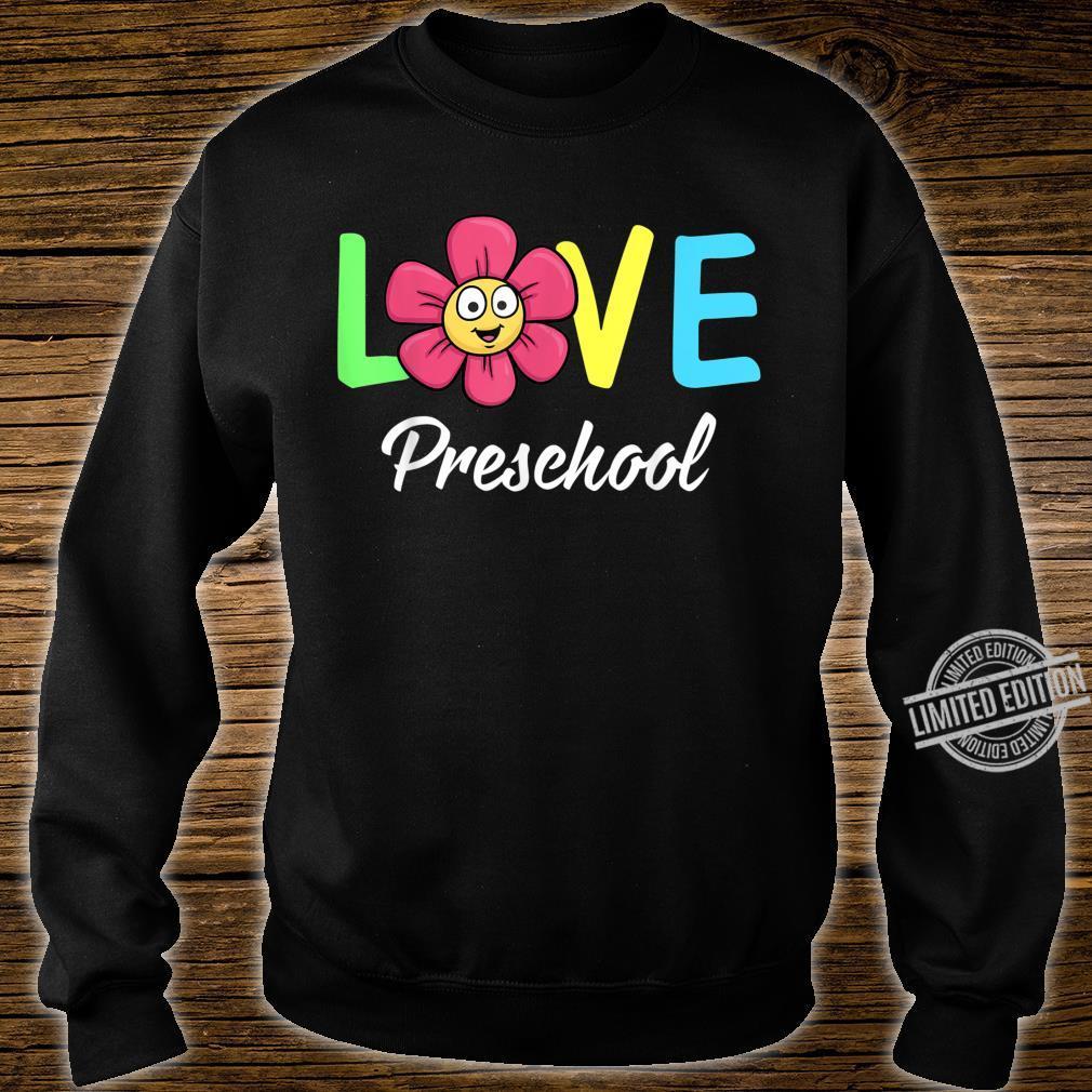 Cute Love Preschool Teacher Costume Boys Girls Shirt sweater