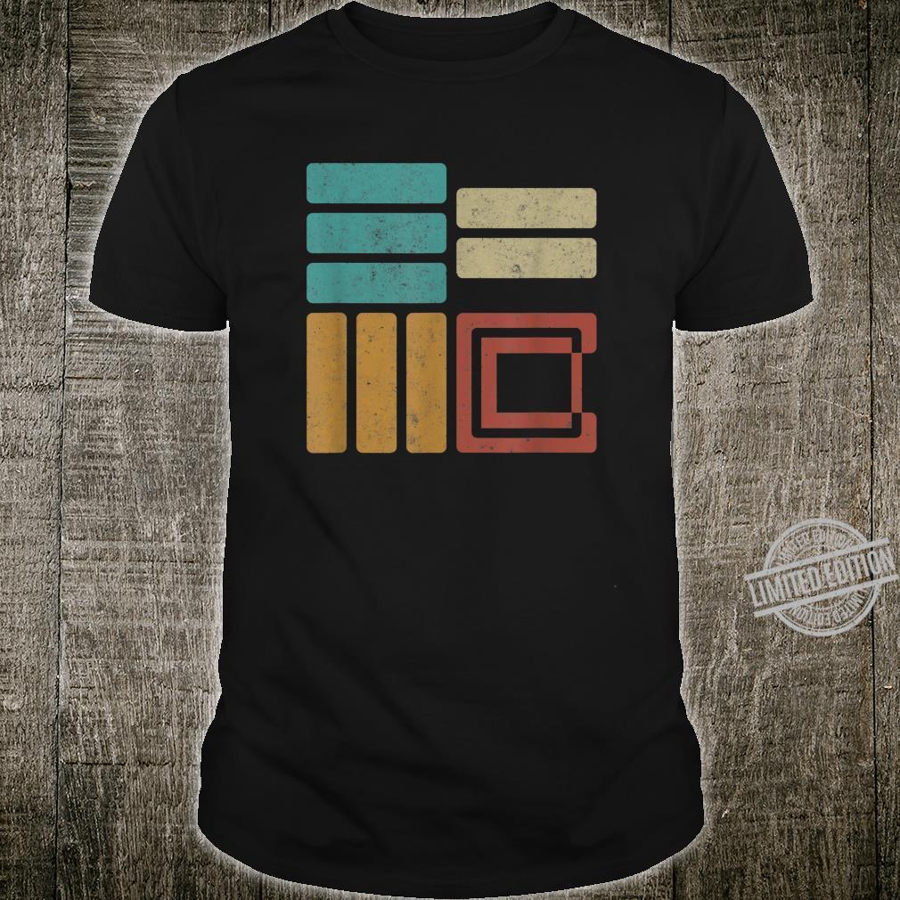 E=MC2 Vintage Retro Science Physics Equation Relativity STEM Shirt