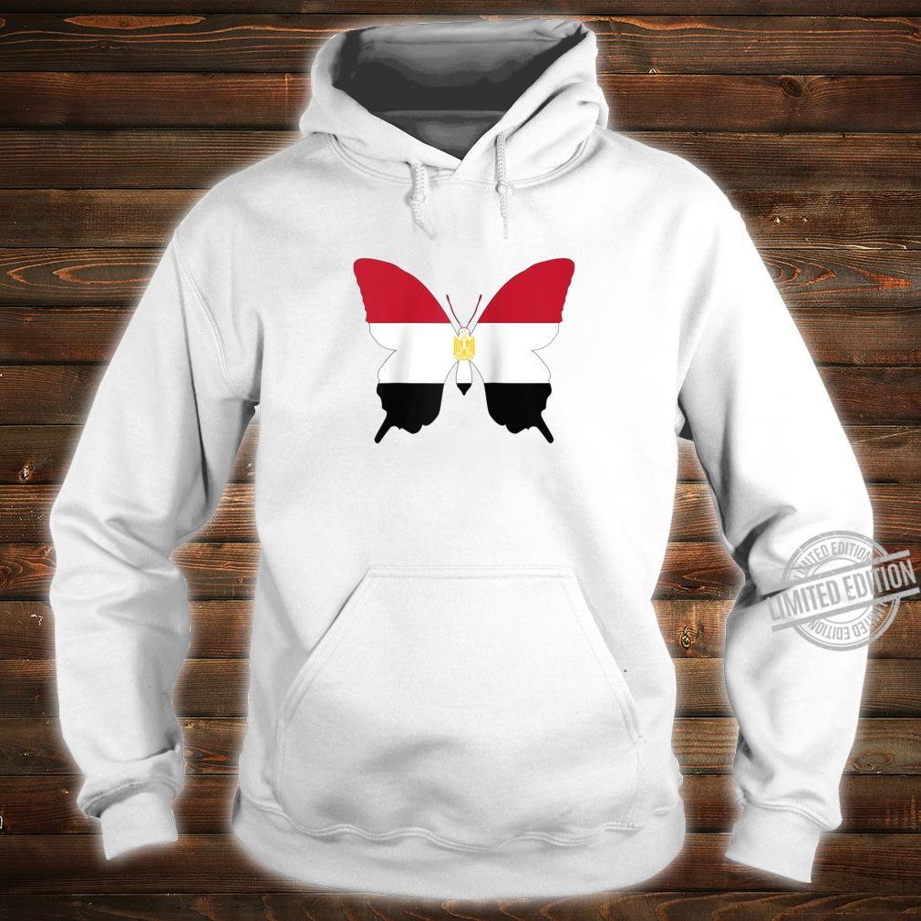 Egypt Butterfly Flag Egyptian Heritage Shirt hoodie