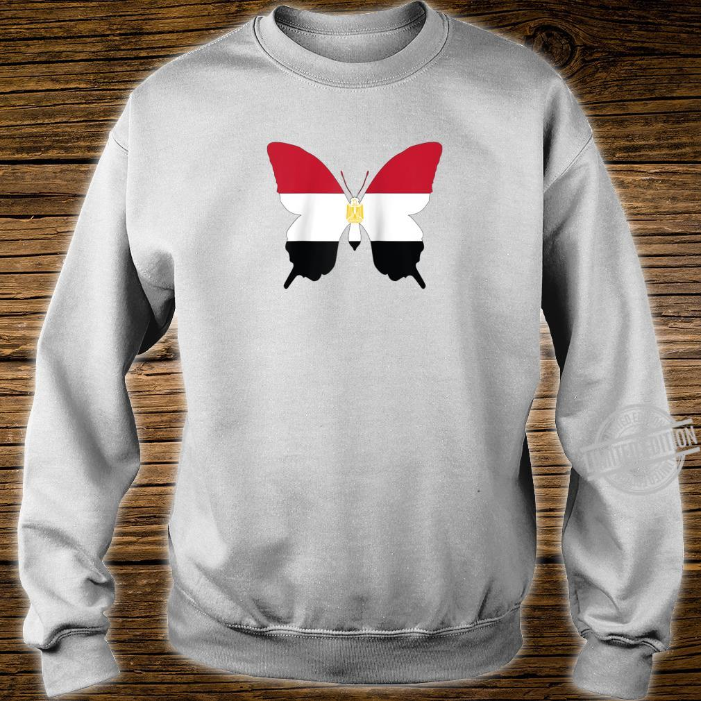 Egypt Butterfly Flag Egyptian Heritage Shirt sweater