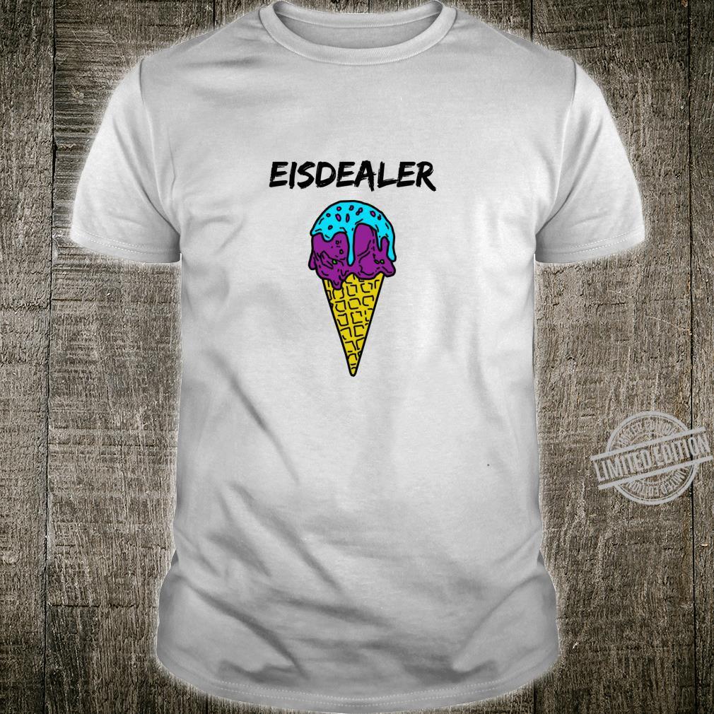 Eisdealer eisdiele eisverkäufer gelato eiswaffel hype Shirt Langarmshirt Shirt
