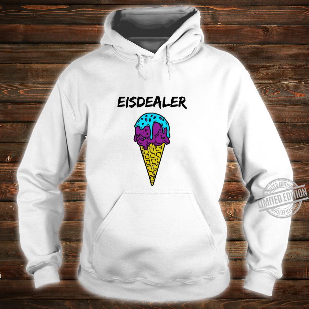 Eisdealer eisdiele eisverkäufer gelato eiswaffel hype Shirt Langarmshirt Shirt hoodie