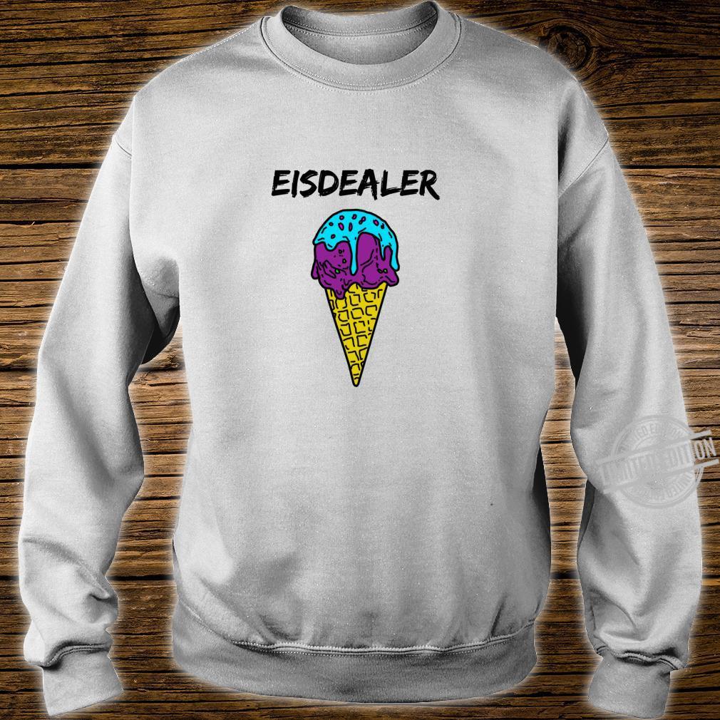 Eisdealer eisdiele eisverkäufer gelato eiswaffel hype Shirt Langarmshirt Shirt sweater