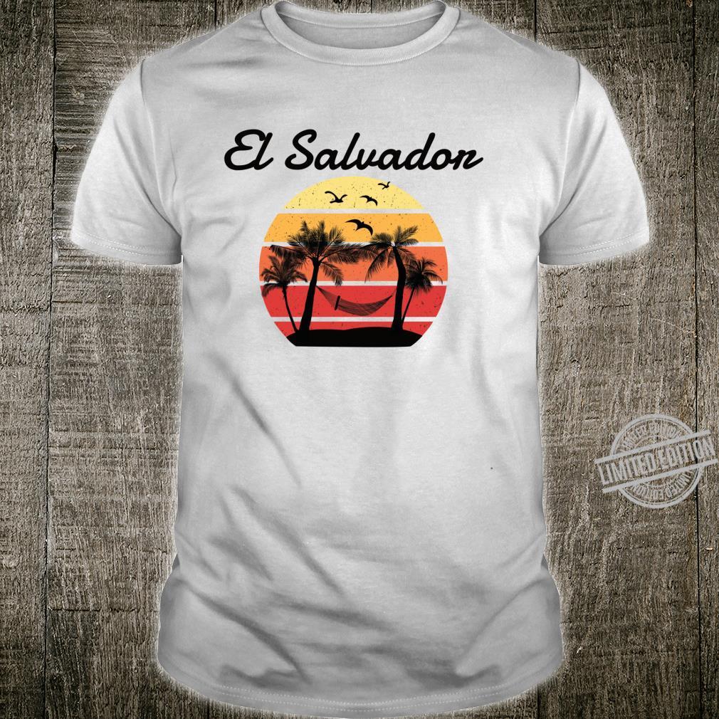 El Salvador Urlaub Palmen Paradies Shirt