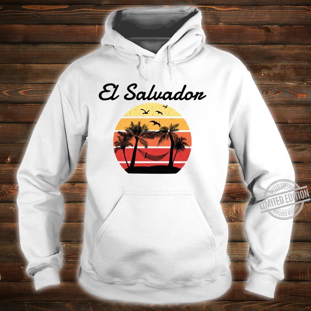 El Salvador Urlaub Palmen Paradies Shirt hoodie