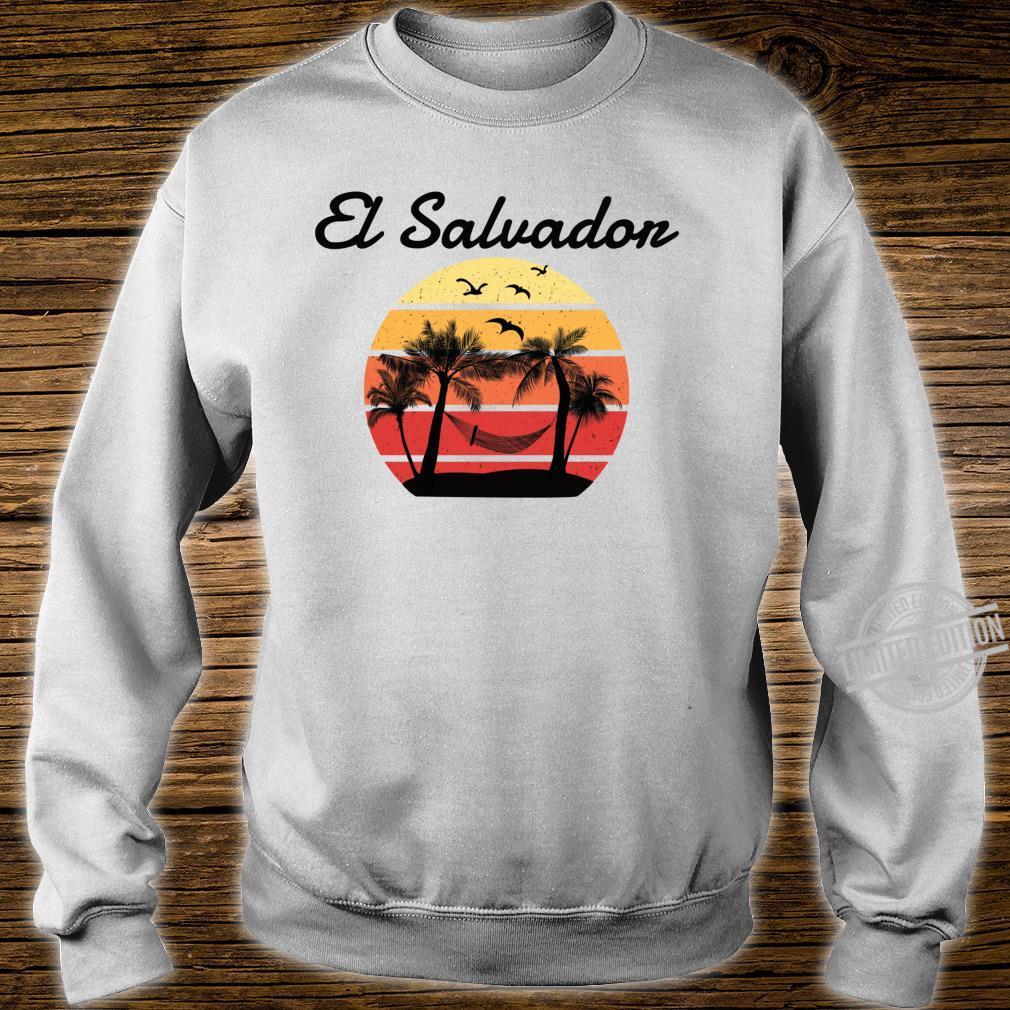 El Salvador Urlaub Palmen Paradies Shirt sweater