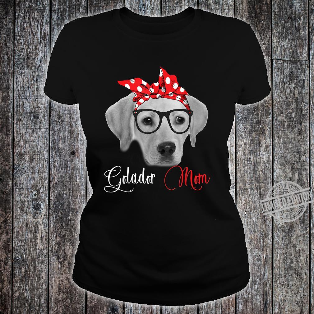 Goldador Mom Mother's Day Dogs Shirt ladies tee