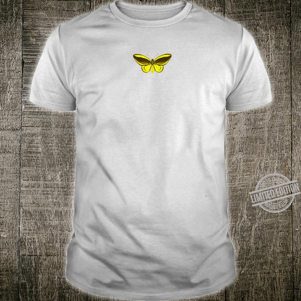 Golden Yellow Butterfly, Insect Drawing, Lepidopterist Shirt