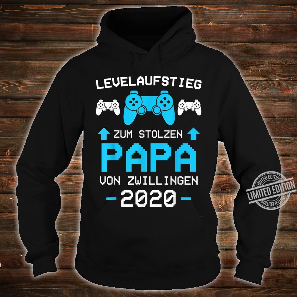 Herren Papa von Zwillingen 2020 Zwillinge Gamer Gaming Geschenk Shirt hoodie