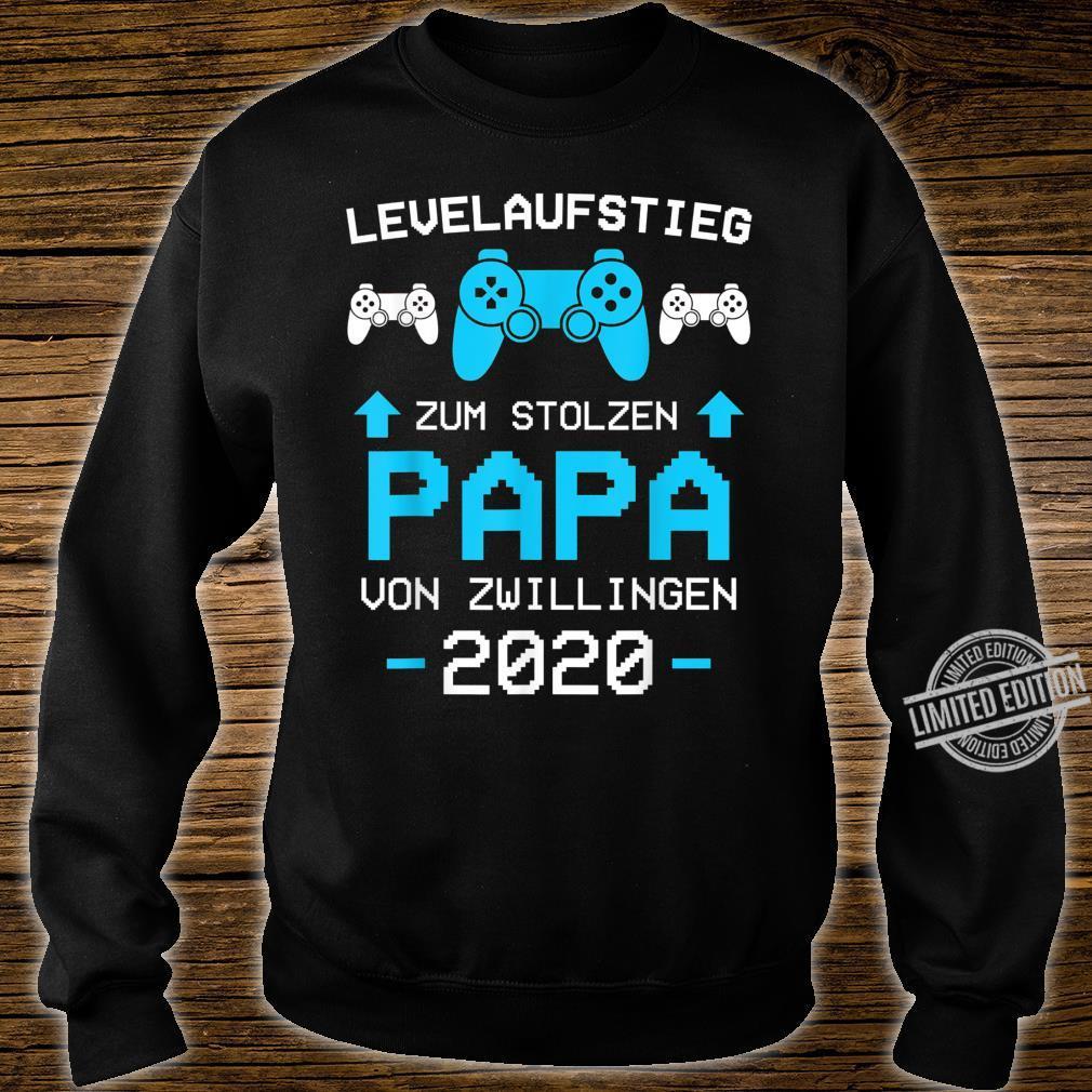 Herren Papa von Zwillingen 2020 Zwillinge Gamer Gaming Geschenk Shirt sweater