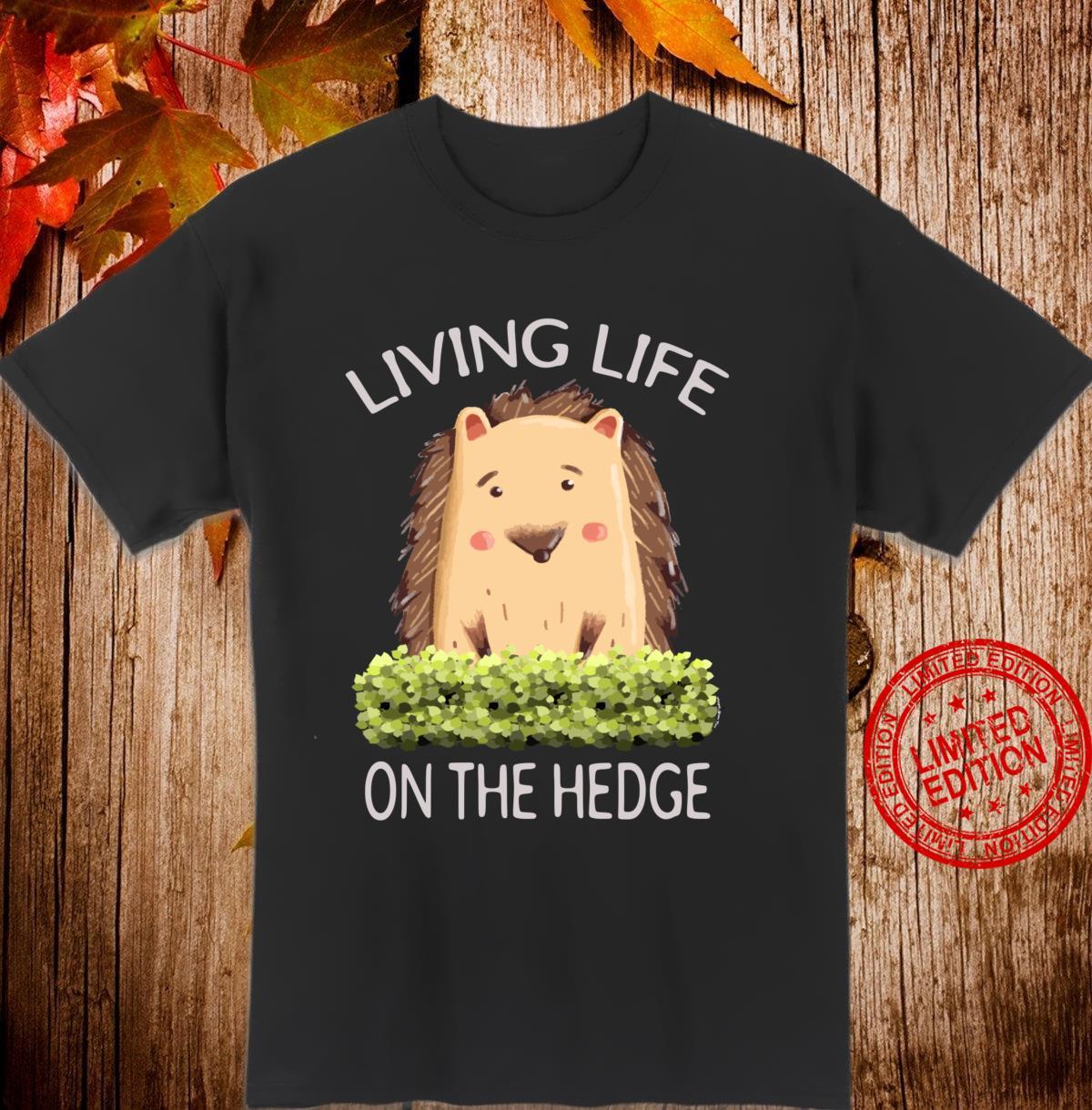 Igel Living Life of the Hedge Langarmshirt Shirt