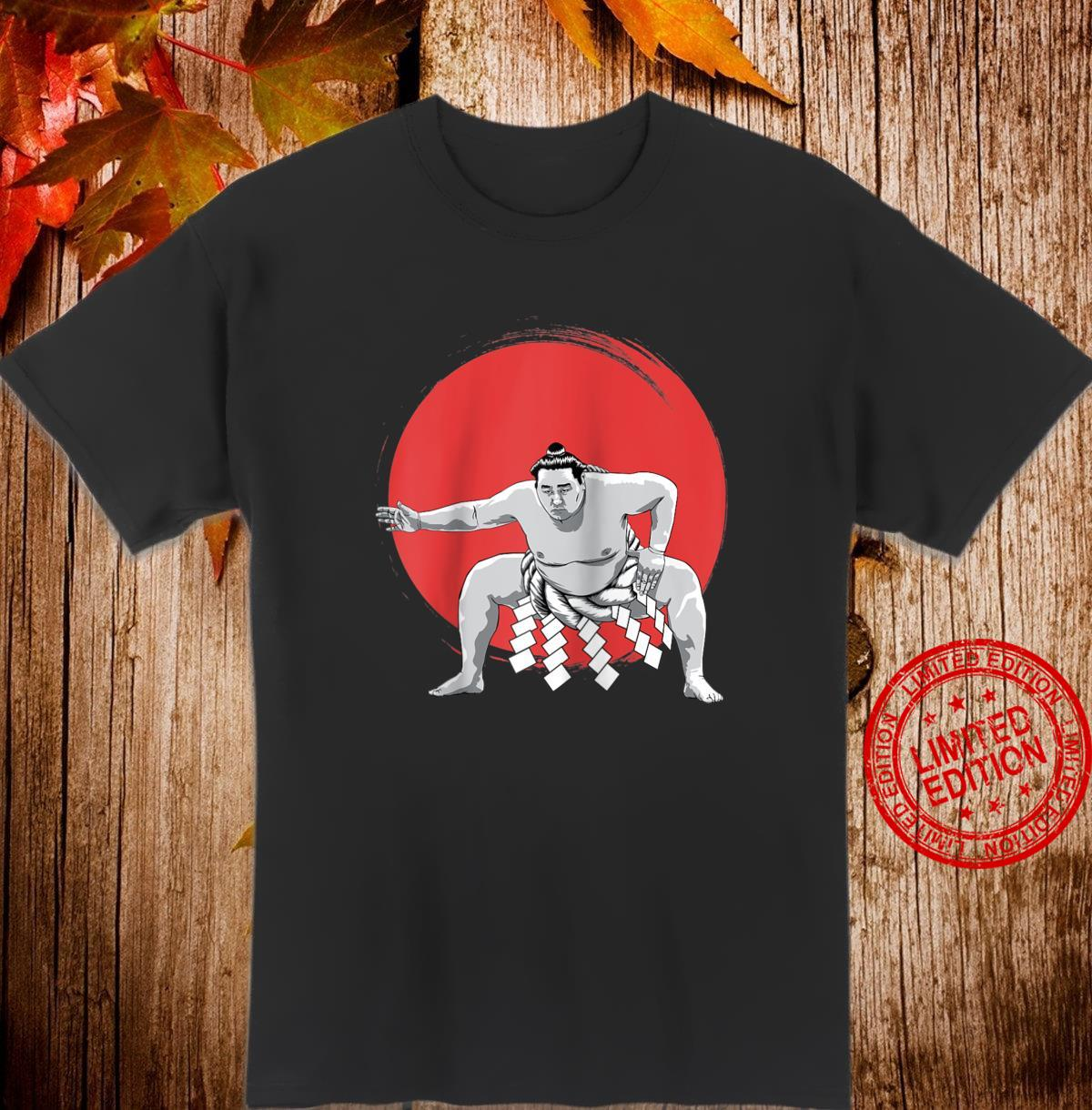 Japanese Sumo wrestler Japan anime Shirt