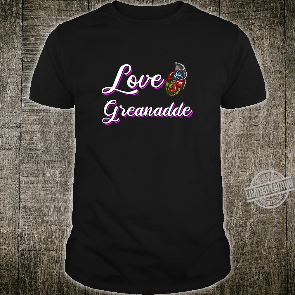 Liebes Granate Sex Bombe Explosiv Sexy Geschenk Shirt