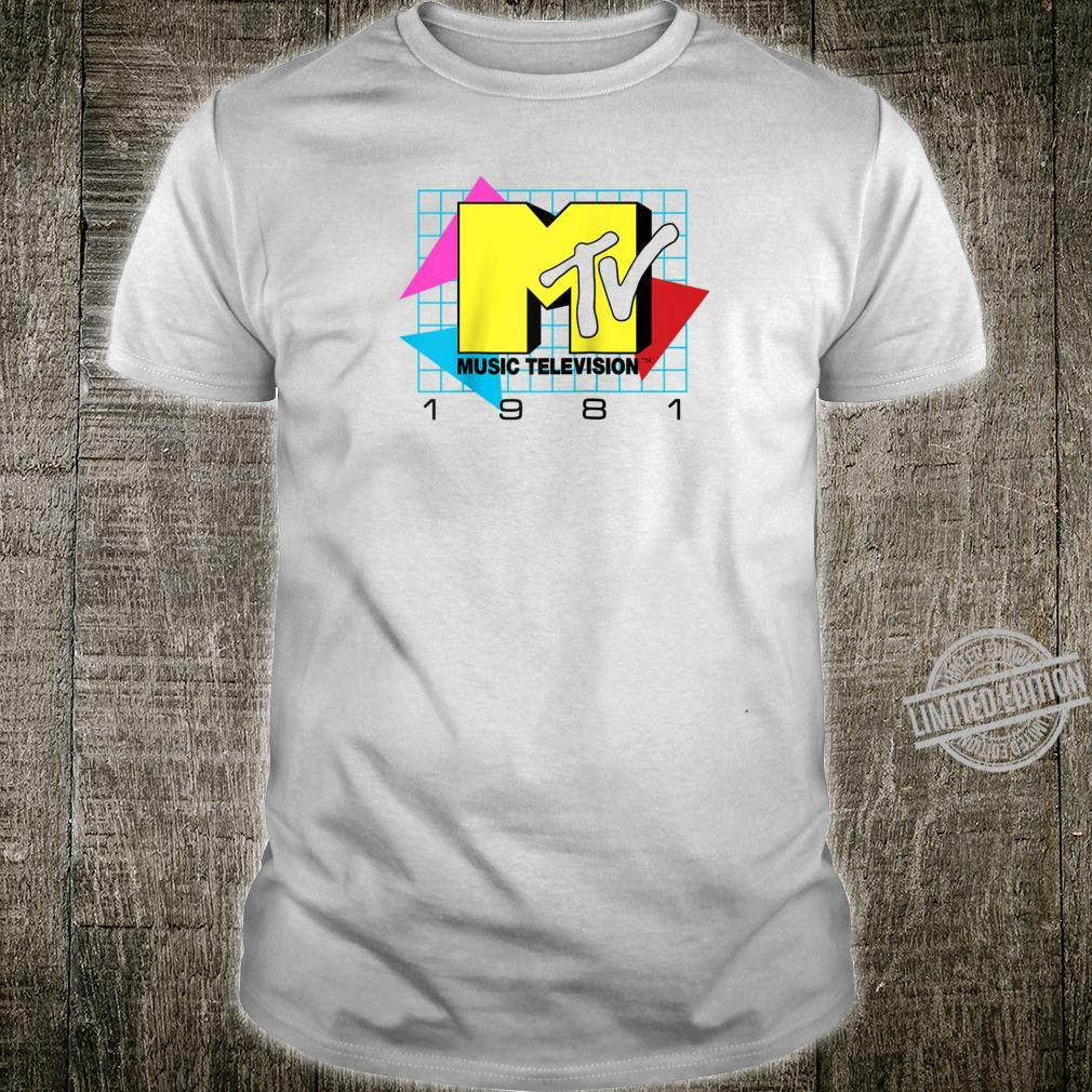 MTV Music Television 1981 Logo Shirt