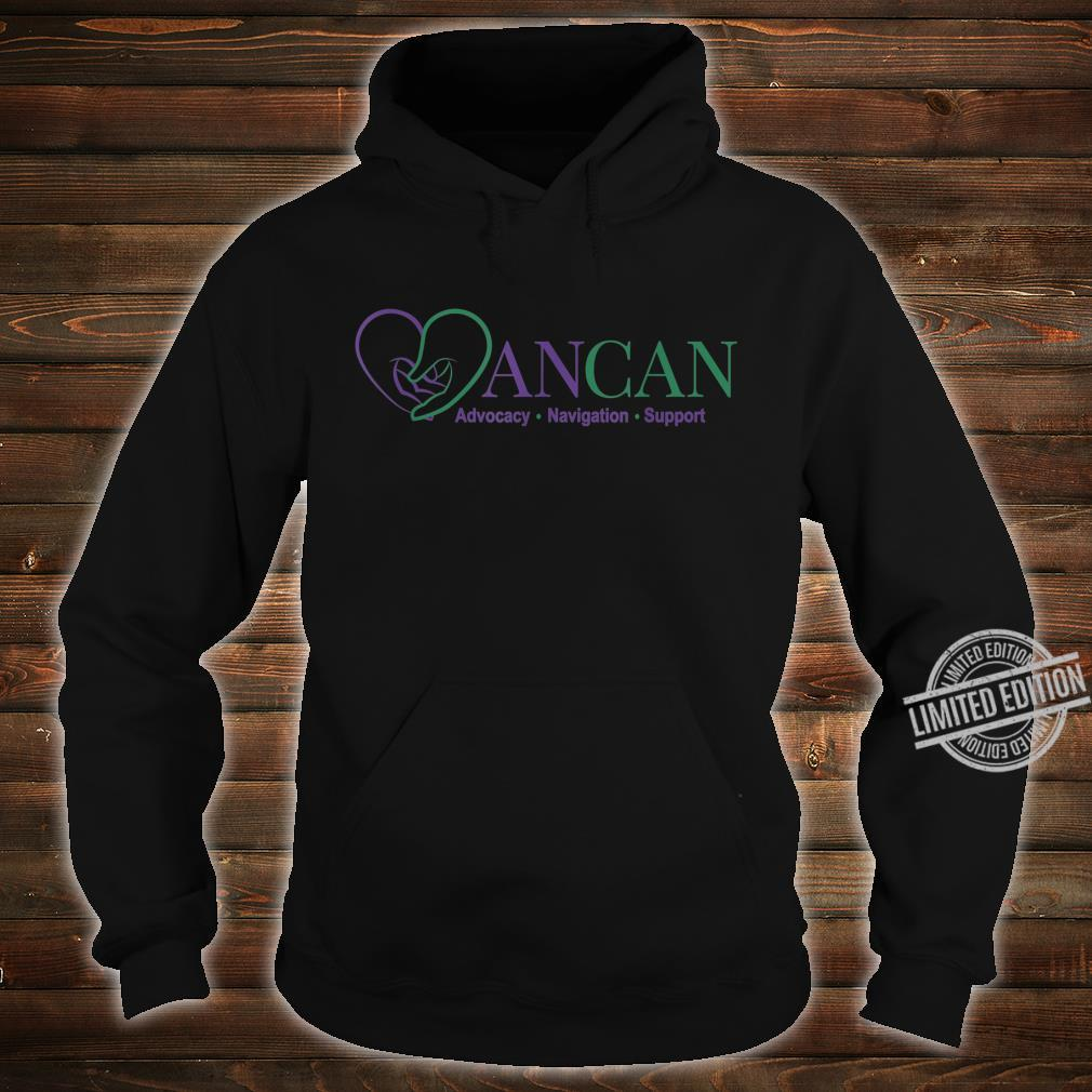 Mens AnCan Support, Navigation, Advocacy Shirt hoodie