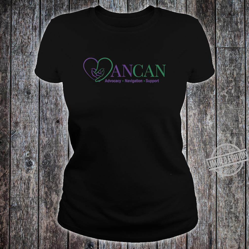 Mens AnCan Support, Navigation, Advocacy Shirt ladies tee