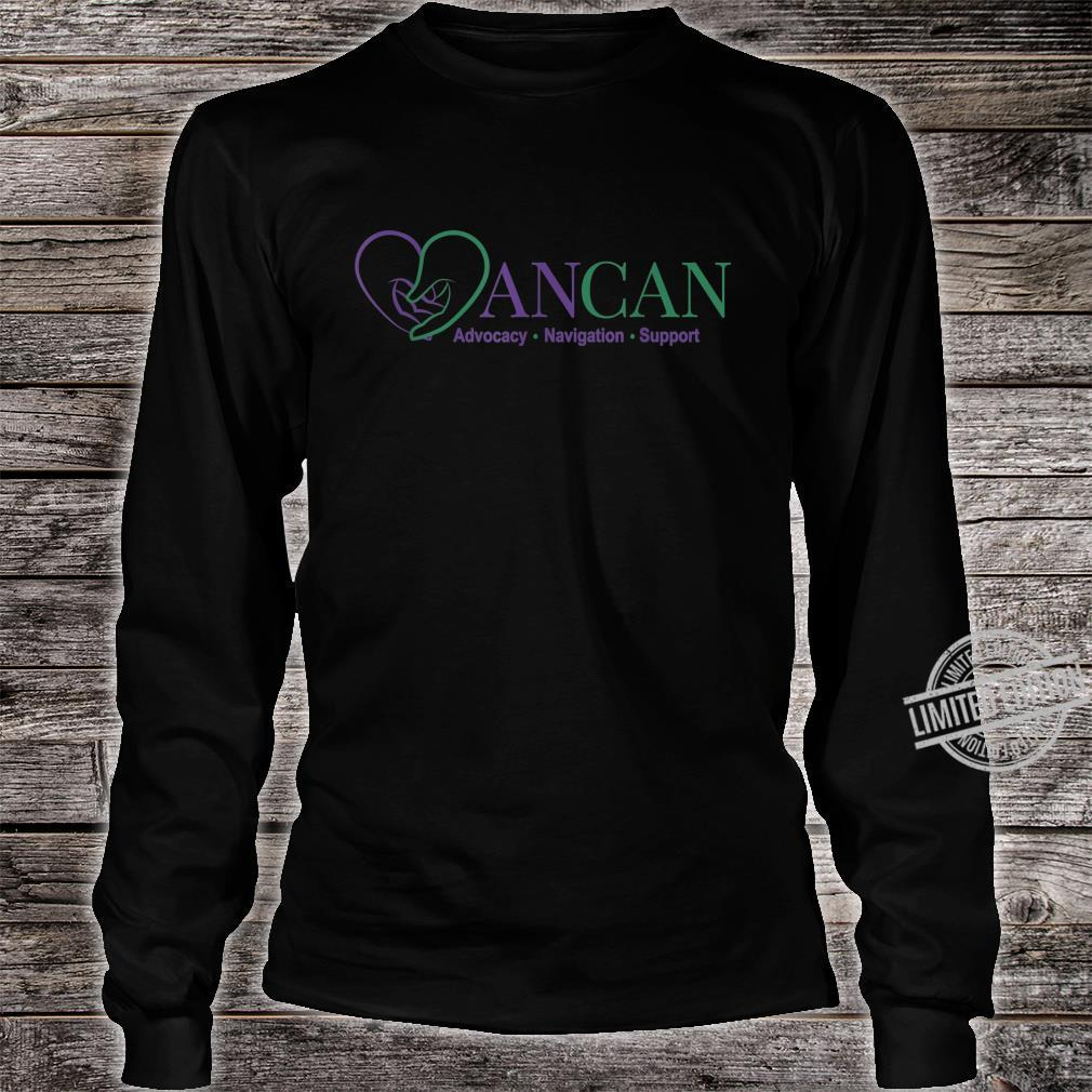 Mens AnCan Support, Navigation, Advocacy Shirt long sleeved