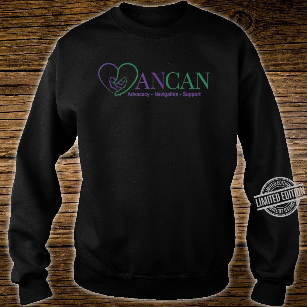 Mens AnCan Support, Navigation, Advocacy Shirt sweater