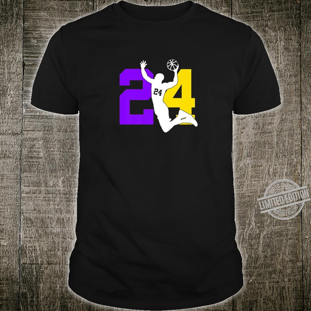 Number 8 and # 24 Basketball Sport Memorial Shirt