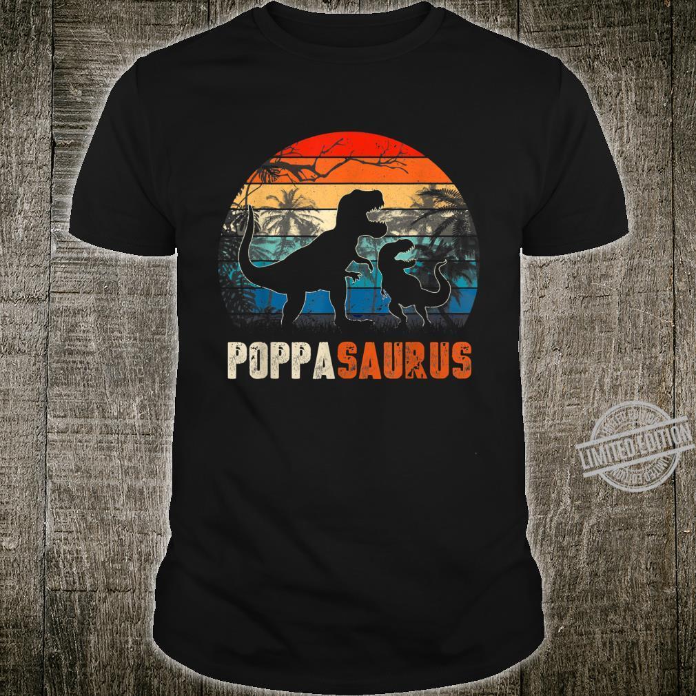 PoppaSaurus Rex Dinosaur Father's Day Shirt