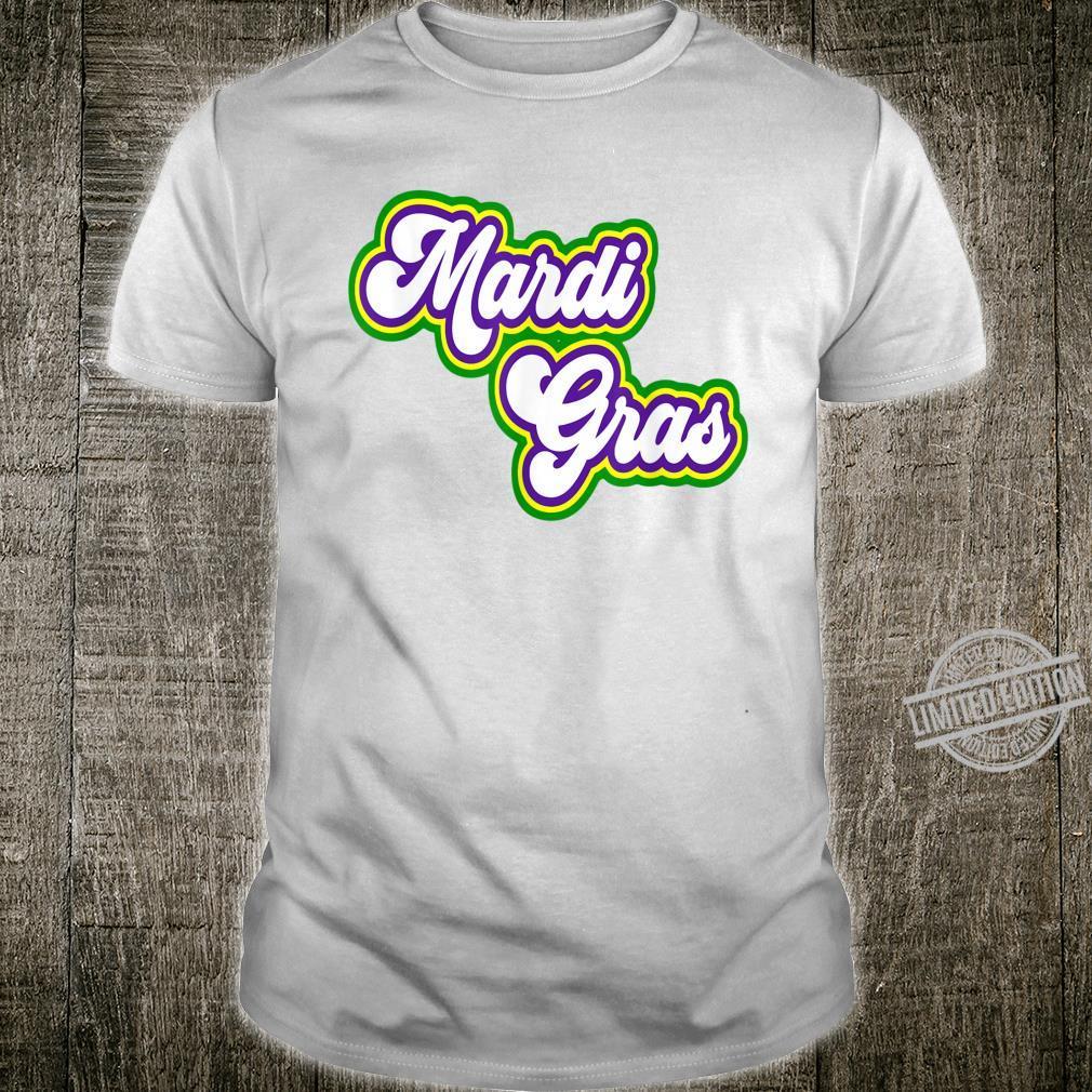 Retro Vintage Mardi Gras Shirt