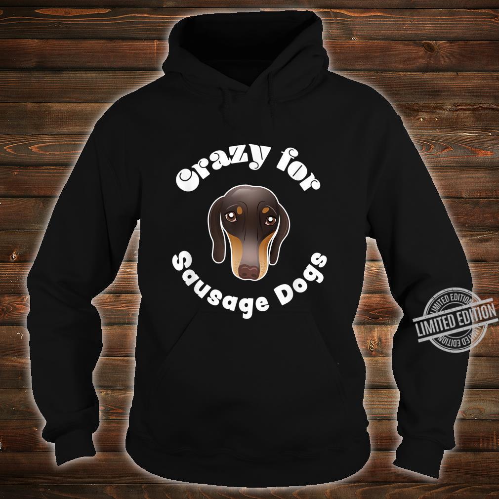 Sausage Dog Owner Cute miniature Dachshund Puppy Shirt hoodie