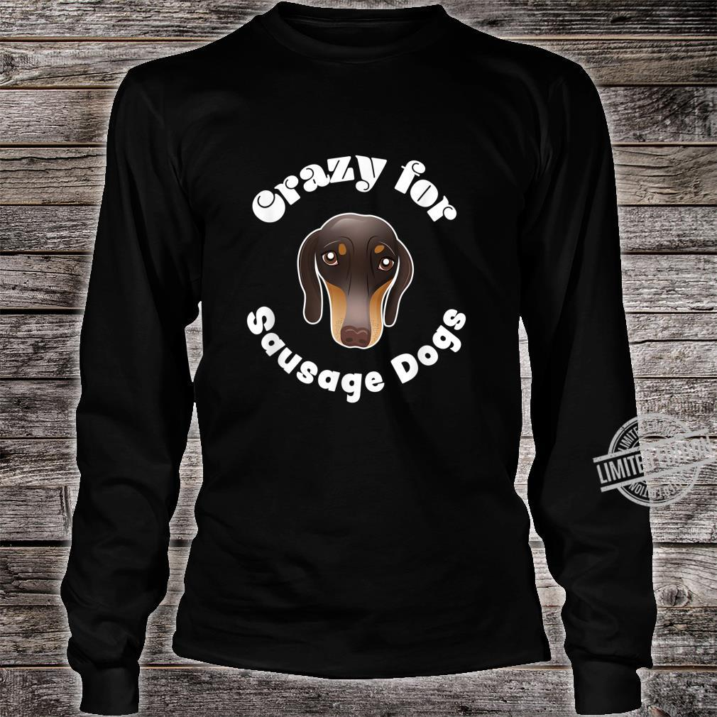 Sausage Dog Owner Cute miniature Dachshund Puppy Shirt long sleeved