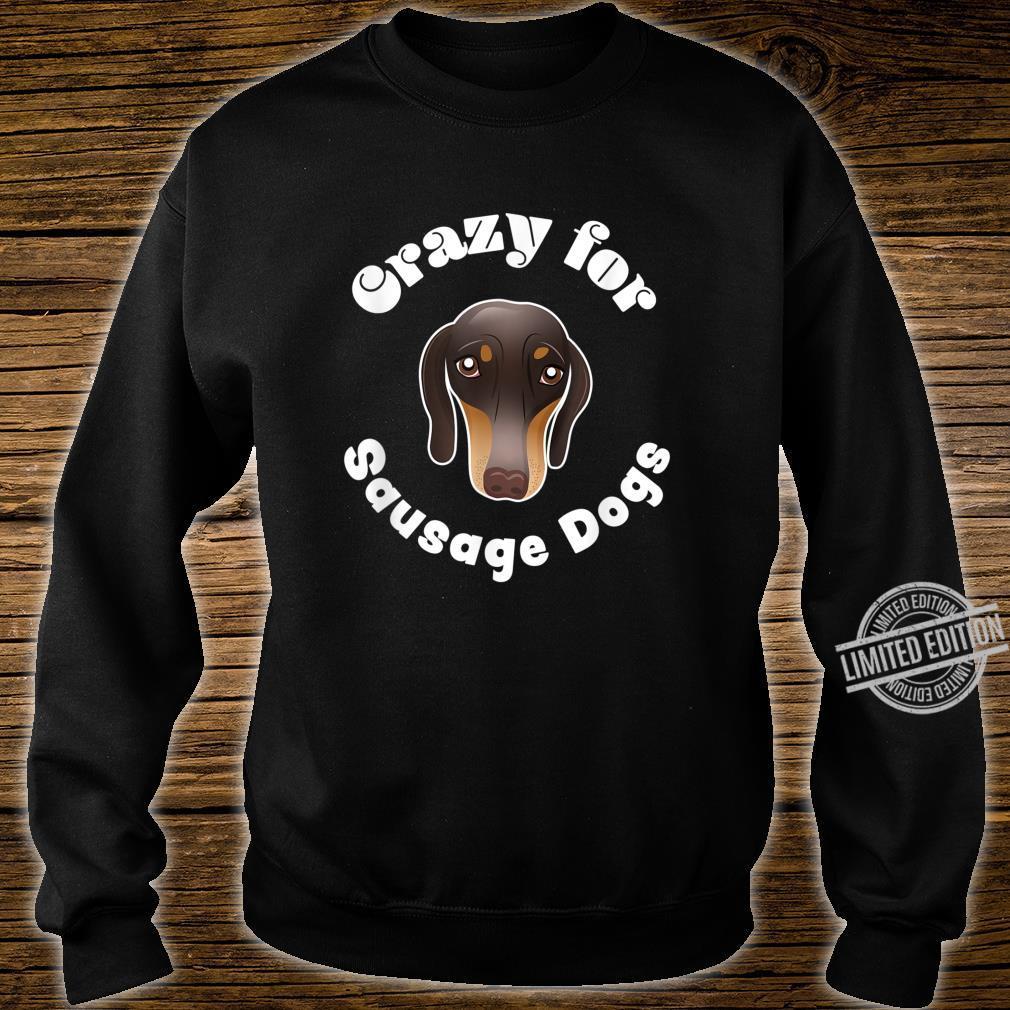 Sausage Dog Owner Cute miniature Dachshund Puppy Shirt sweater