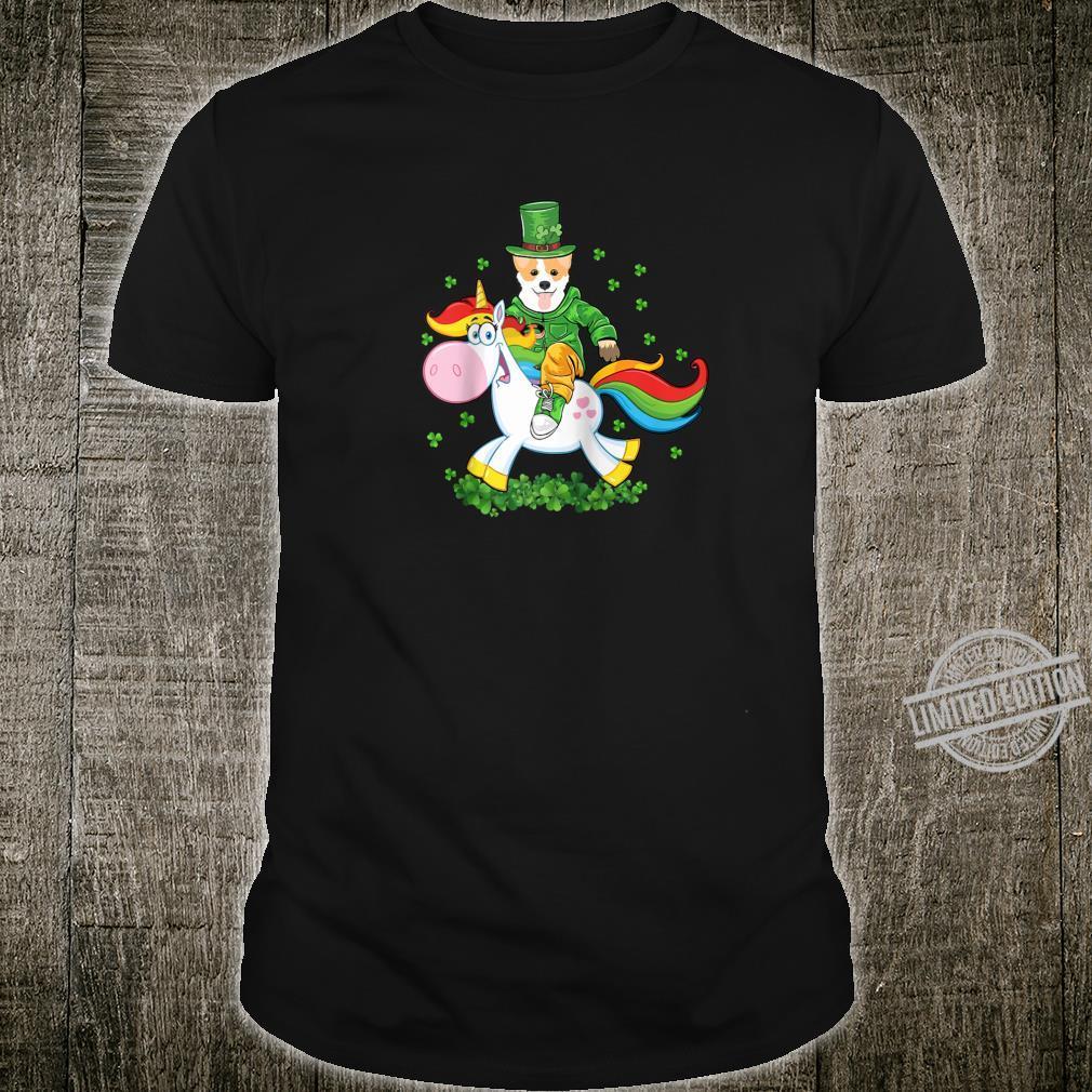 St. Patrick's Day Corgi Dog St Patrick's Day Shirt