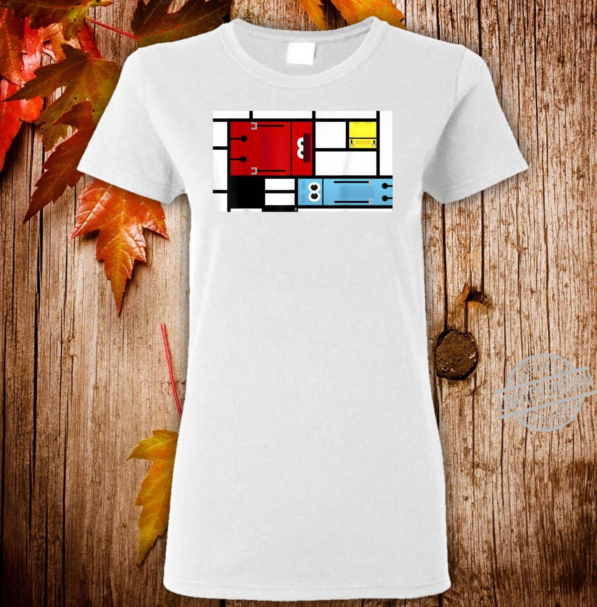 StoryBots Group Shot Composition Painting Shirt ladies tee
