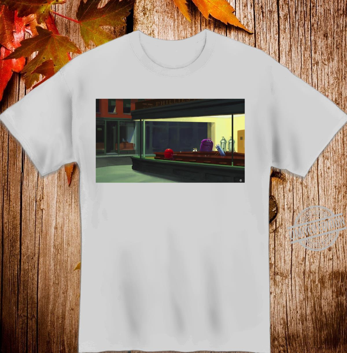 StoryBots Group Shot Nighthawks Painting Langarmshirt Shirt