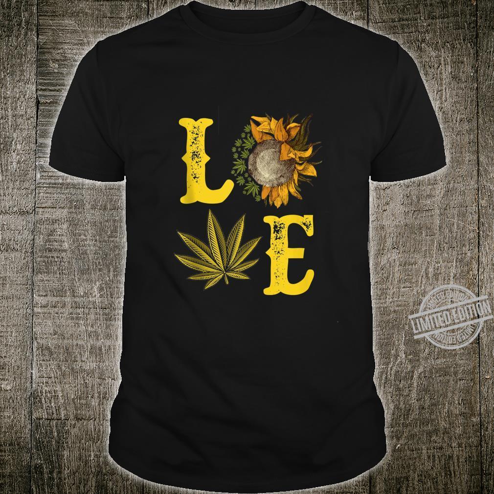 Sunflower Cannabis Shirt