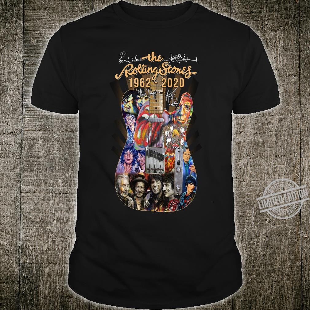 The Rolling Stones 1962 - 2020 shirt