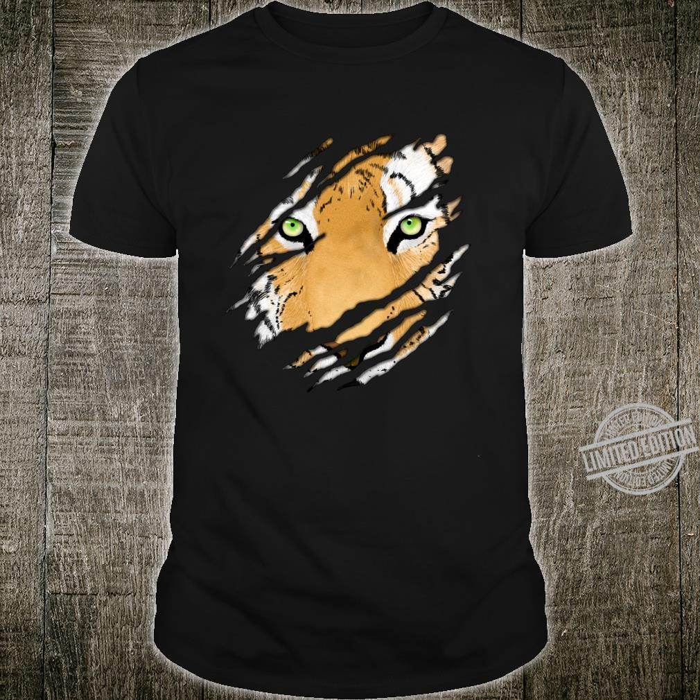 Tiger In Me Wildlife Art Shirt