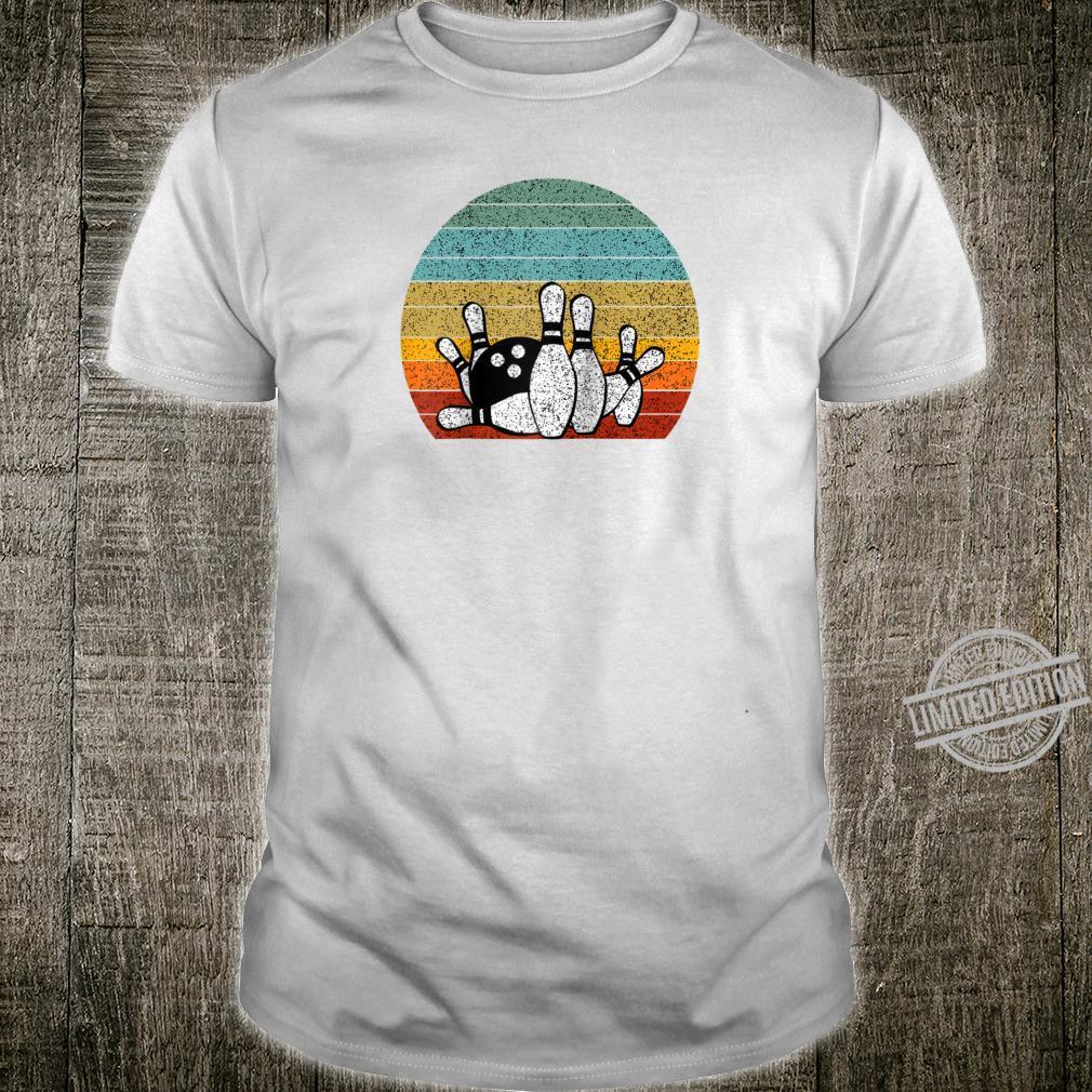 Vintage bowling strike retro style bowlers cute design Shirt